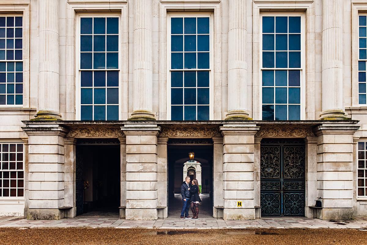 Hampton Court Pre-Wedding Photography