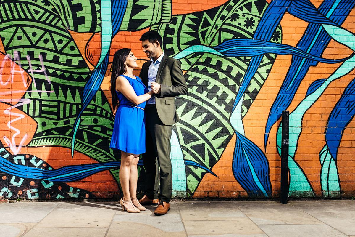Brick Lane London Pre Wedding Photography