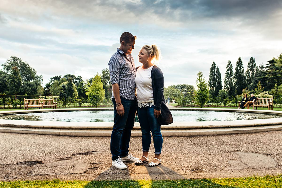 Regents Park London Pre-Wedding Photography