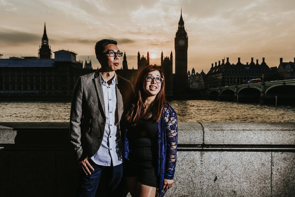 Westminster, London – Pre-Wedding Photography