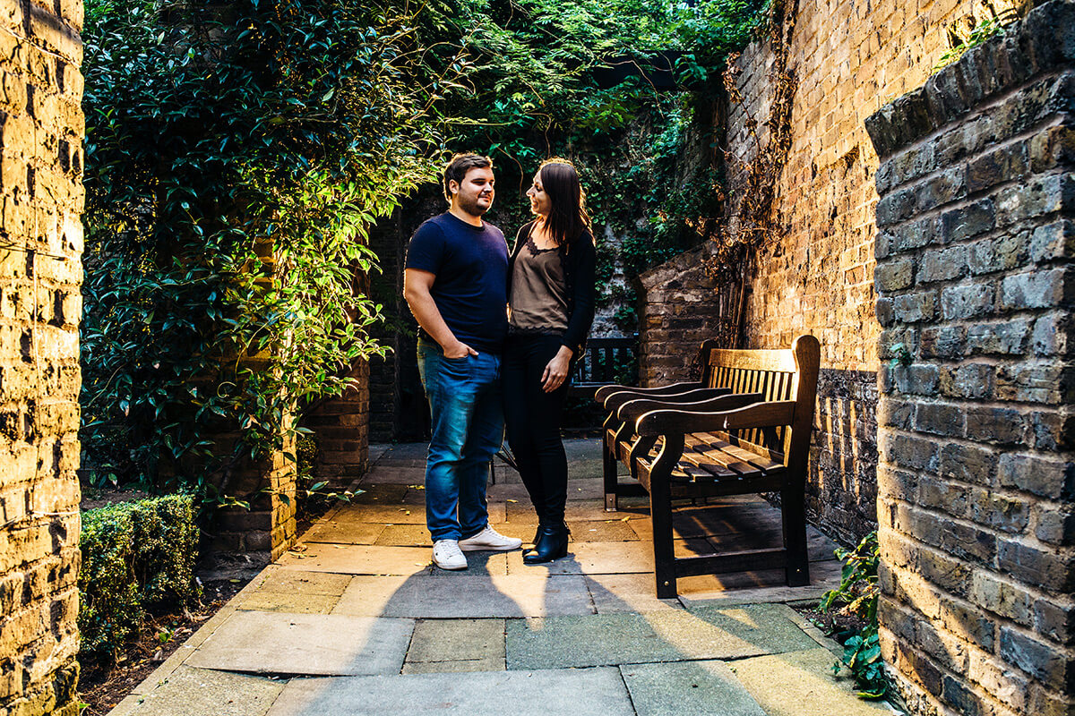 Cleary Gardens, London - Pre-Wedding Photography