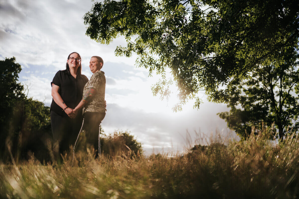 Hylands Park Chelmsford Engagement Photography