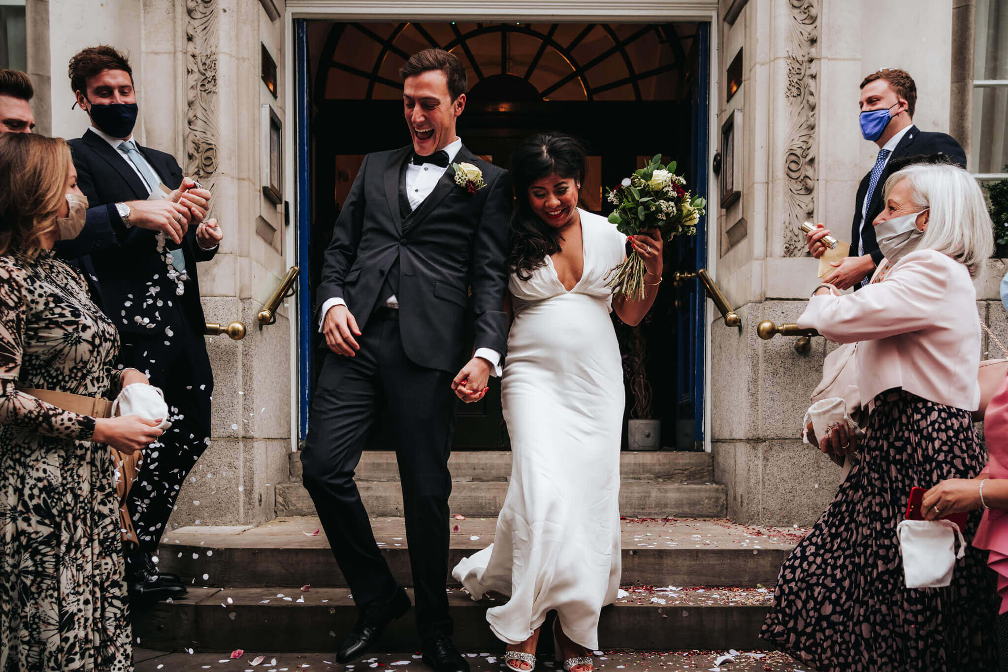 Chelsea Old Town Hall Covid Wedding